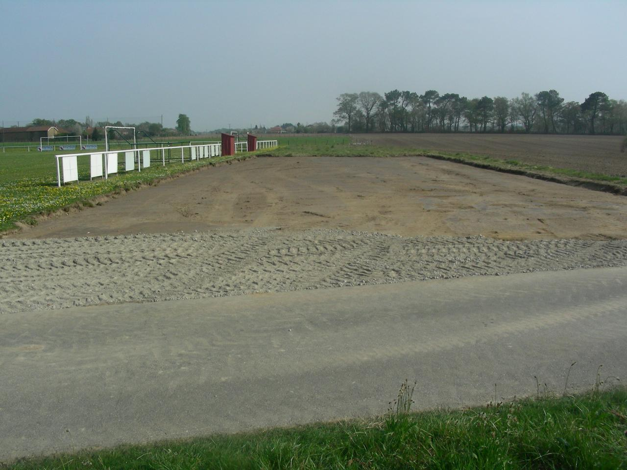 Parking du stade avril 2012