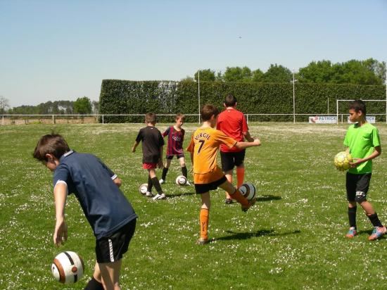Stage foot 16 avril 2014