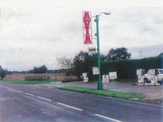 Station Avia en 1992
