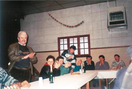 Cérémonie des voeux Janvier 1994