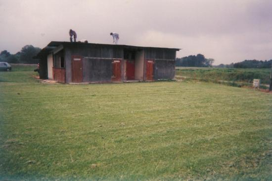Ancien vestiaire du foot en 1983