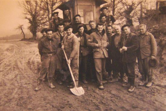Les cantonniers vers 1960