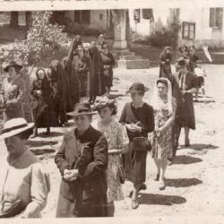 Procession Fête Dieu 1943