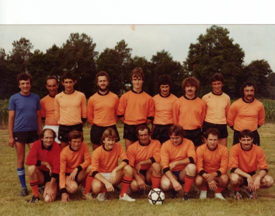 Equipe du FCL en 1984