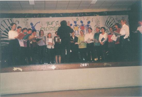 Ré-Création Spectacle Février 2001