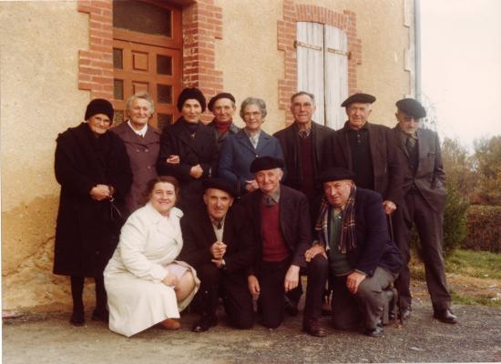 Groupe d'Anciens en1980