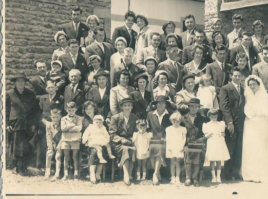 Mariage à Lacajunte en 1957
