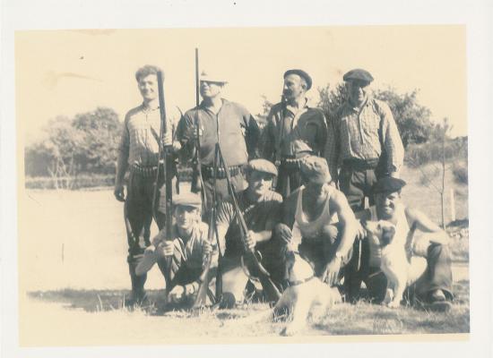 Les chasseurs dans les années 60