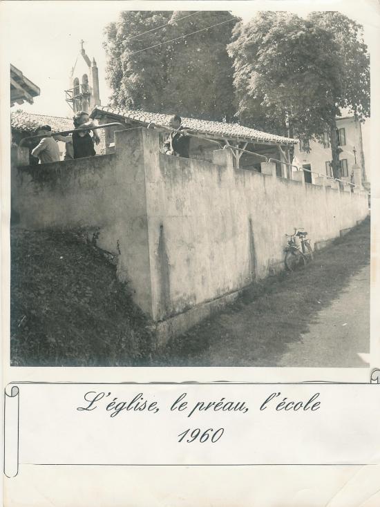 Le Bourg en 1960