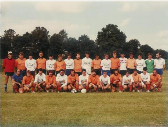 Les joueurs du FCL en 1984