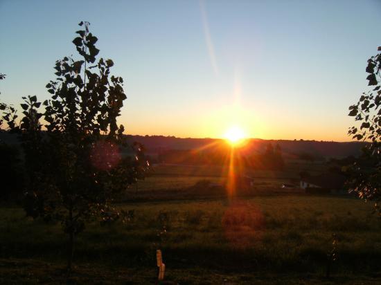 Lever de soleil  août 2008