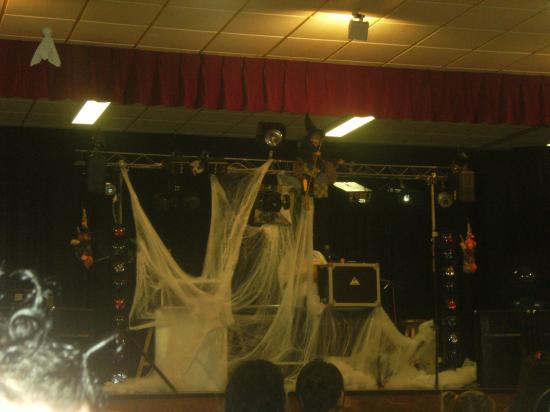 Soirée Halloween organisée par les parents d'élèves