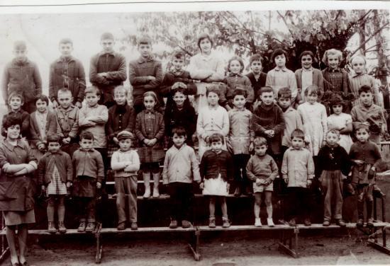 Rentrée des classes 1962