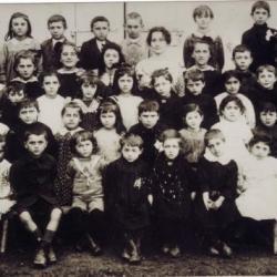 Ecole d'Arboucave en 1920