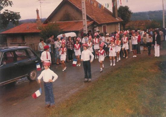 Fêtes de Péchevin 1978