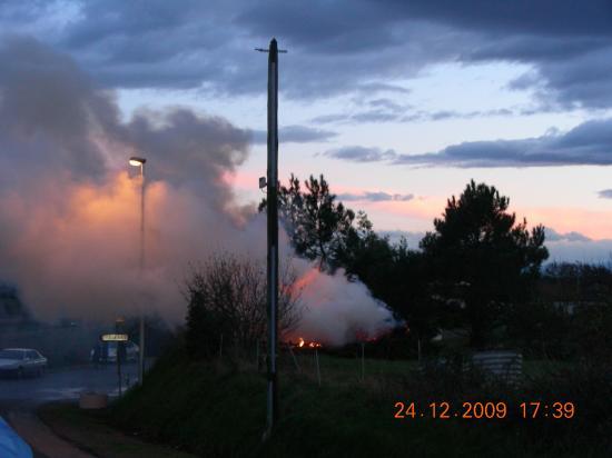 Haille de Nadau à Puyol le 24/12/09