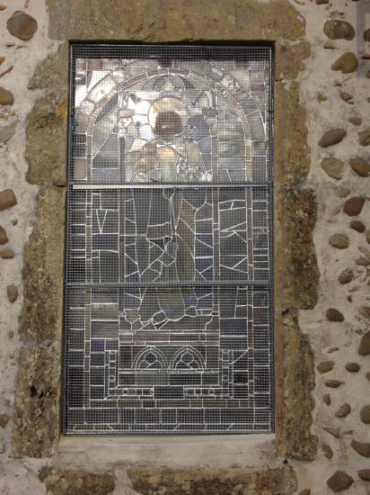 Réparation vitrail  novembre 2010