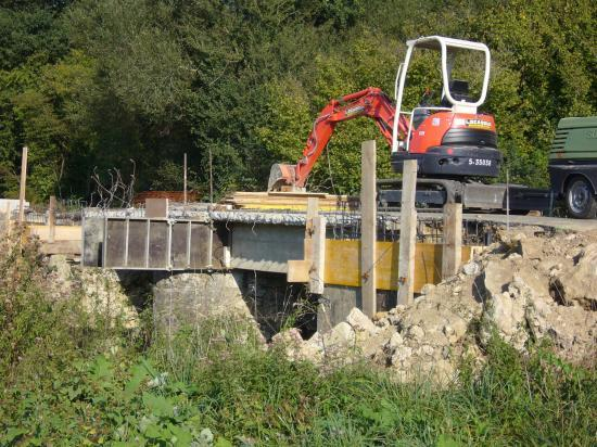 Rénovation du pont du Louts