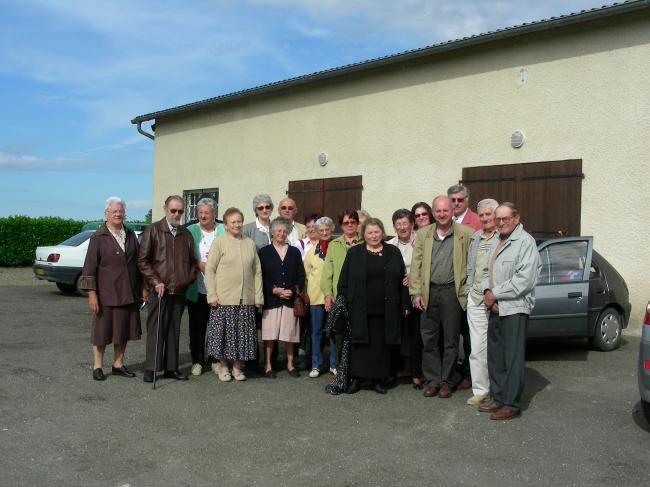 Le groupe pour Saint-lon les Mines