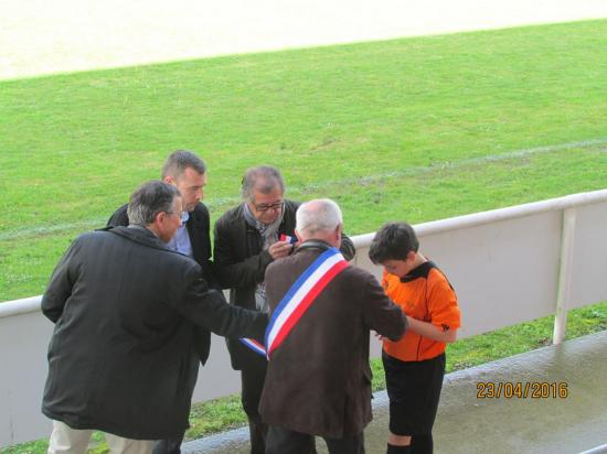 Inauguration éclairage 23/04/2016