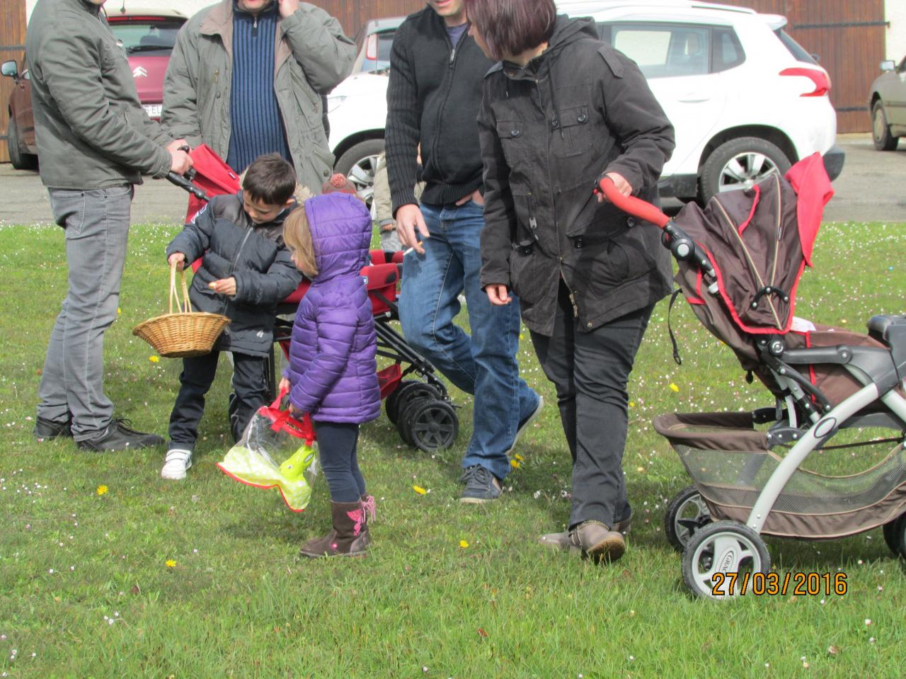 Chasse aux oeufs 27/03/2016