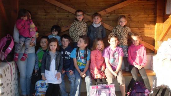 Départ pour l'école 10 avril 2014